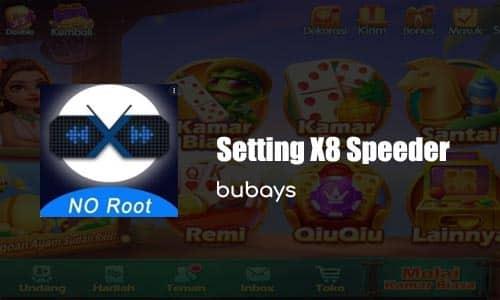 Setting X8 Speeder