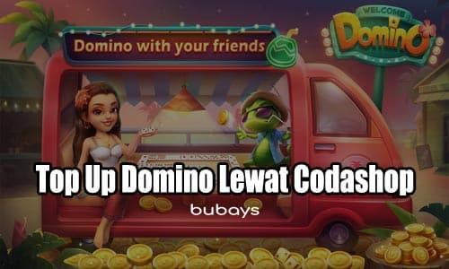 Top Up Domino Lewat Codashop